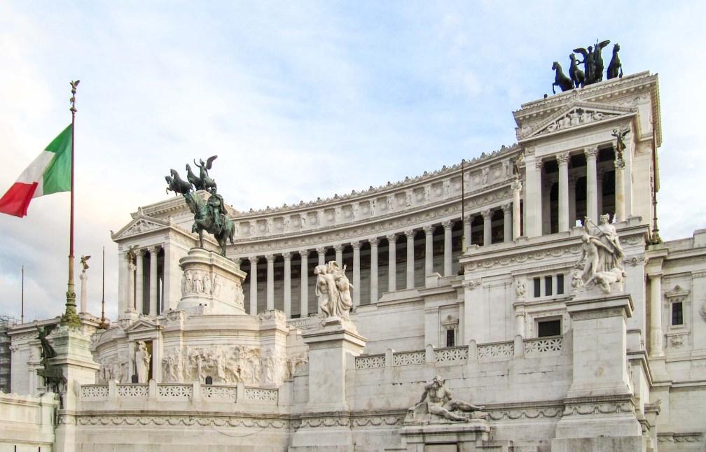 monument à Victor Emmanuel