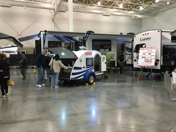 Squirrel chases, RV show, and showtime!!