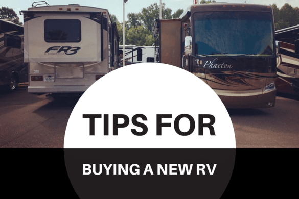 Top Tips for Buying a New RV