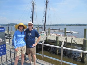 Jim and Ade at Connecticut River Museum