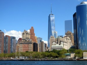 Battery Park and One World Trade Center