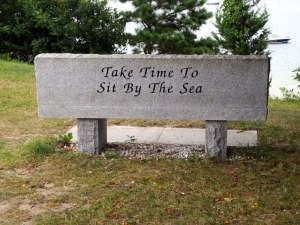 Park Bench in Onset