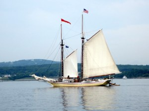 Sailing Into Rockland Harbor