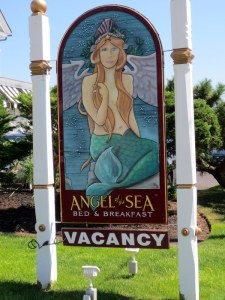Sign for Angel of the Sea