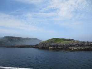 Smuttynose (foreground) and Manana Islands across from Monhegan