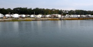 RV City Along the ICW