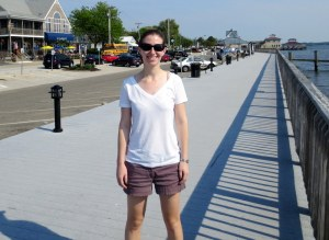 Katherine on the Boardwalk