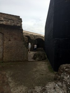 Inside Ft. Sumter