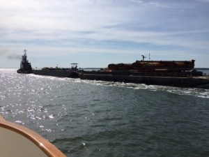 Dredge Heading to Norfolk; Hopefully After Clearing Channel