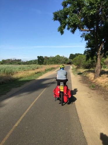 Sacramento River Bicycle Path