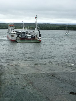 Ferry across the River Shannon