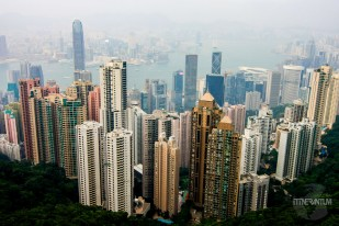 Hong Kong skyline from Victoria's Peak