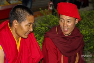 monks in Hong Kong