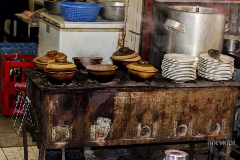 Stove cooking in Muslim Quarter, Xian