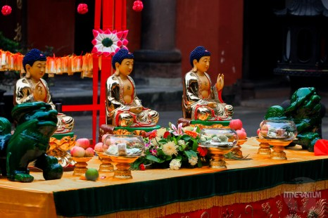 Wenshu temple offerings
