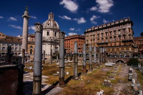 Trajan's Market and Basilica Santa Maria di Loreto
