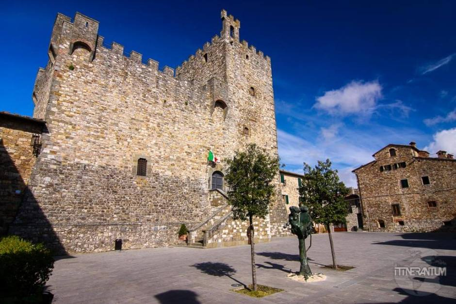 Fortress in Castellina Chianti