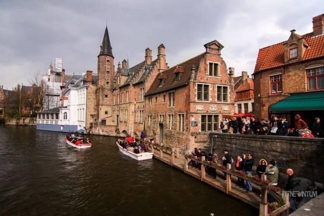 Rozenhoedkaai-Bruges, the boat terminal