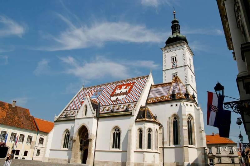St.Mark's Church in Zagreb