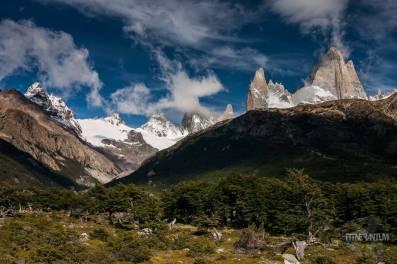 el chalten best hikes, view of mt fitz roy in el chalten