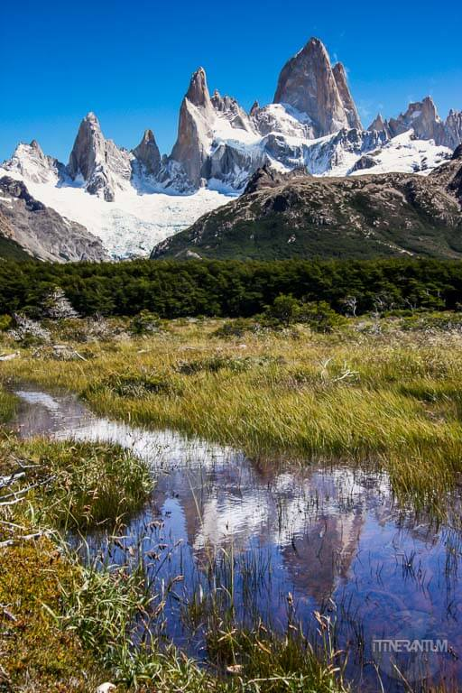 el chalten best hikes, view of mt fitz roy in el chalten