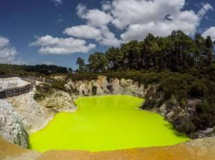 Hell's bath, Wai-o-Tapu, Rotorua