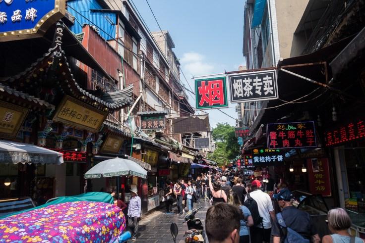 Strassenszene in Xi'an