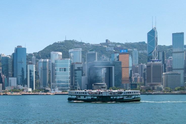 Die legendäre Star Ferry, welche Hong Kong Island und Kowloon verbindet