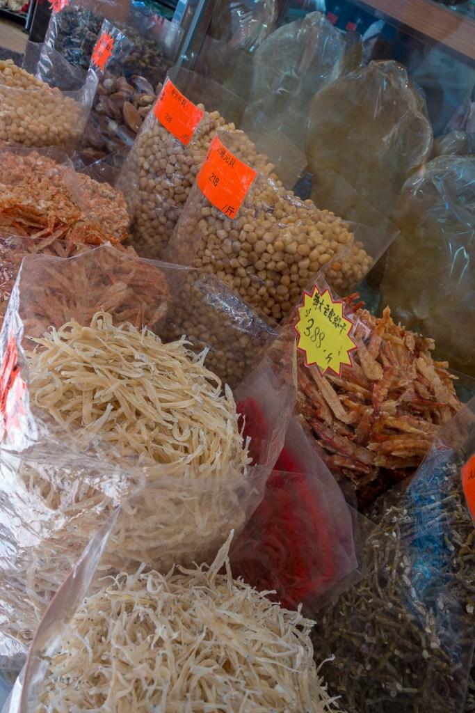 Getrocknete Lebensmittel aller Art zum Verkauf
