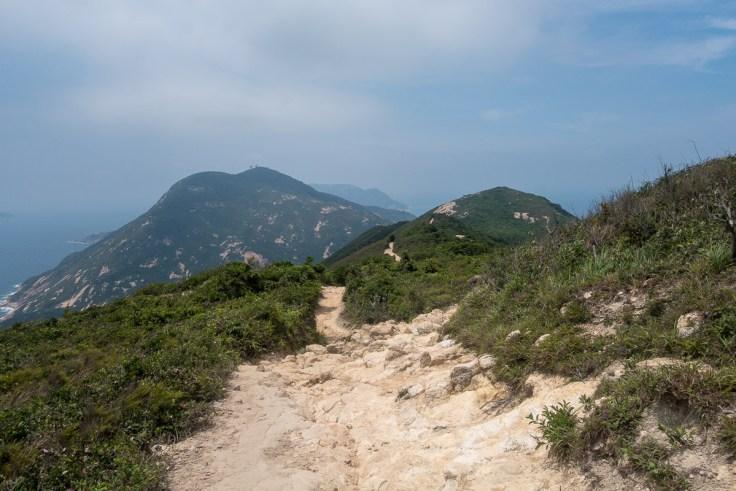 Wanderweg auf der Krete