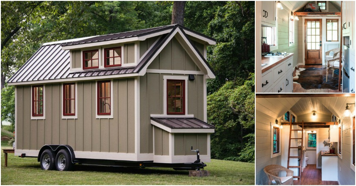 Timbercraft's Tiny House Features All The Comforts Of The