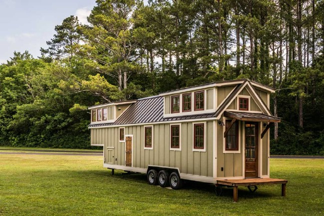 The Timbercraft Denali Is A Luxurious Tiny House With