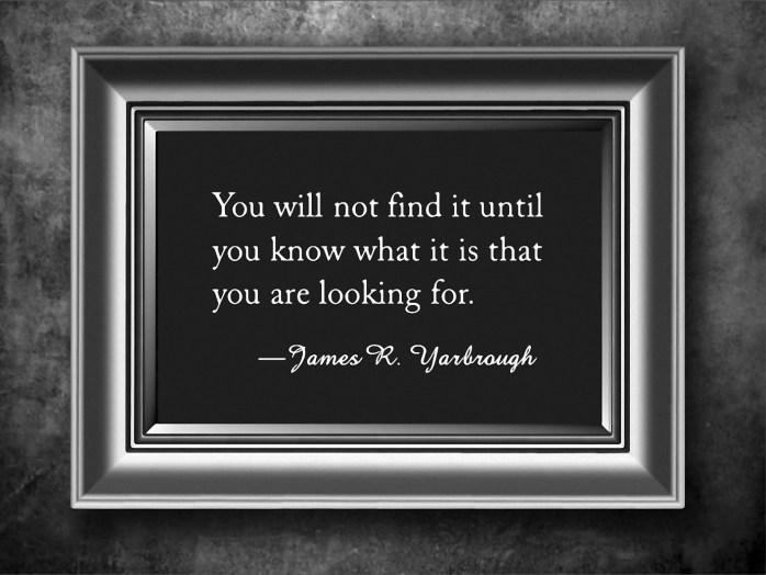 What Are You Looking For 10-18-15
