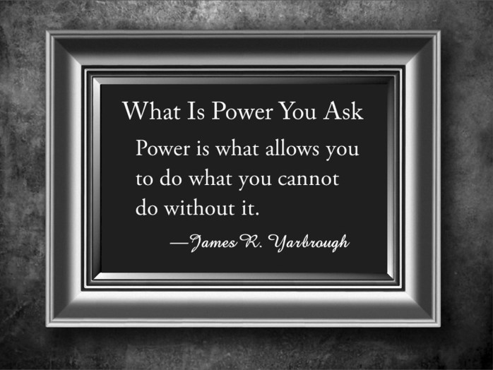 What Is Power 11-17-15