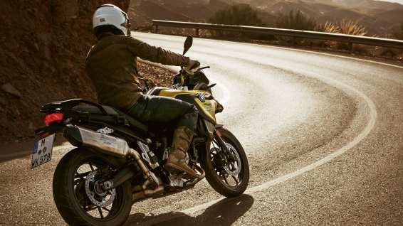 BMW F750GS with Akrapovic