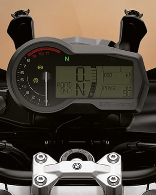 F750GS new dashboard