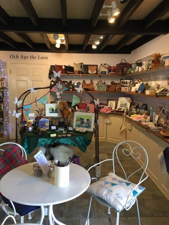 The Smithy New Galloway Shop