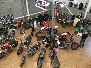 Krazy Horse Shop Floor Custom Bikes