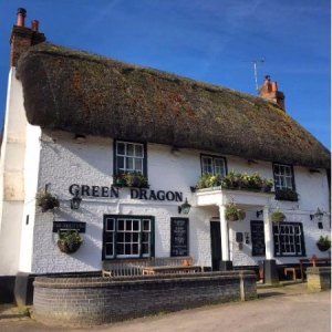 Evening get-together at the Green Dragon at Brook in the New Forest @ Green Dragon