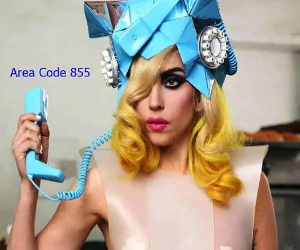 area code 855