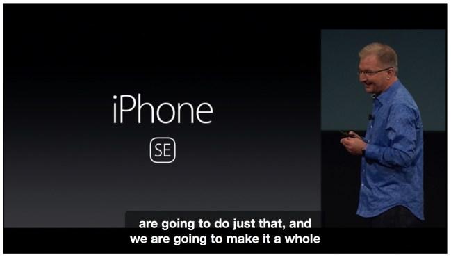 160323 apple event iphone se 01