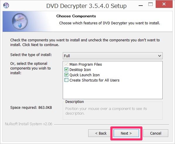 Img DVD Decrypter install 03