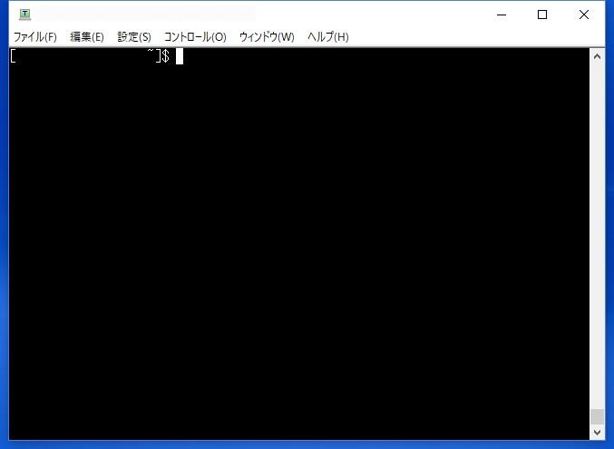 TeraTerm 接続画面