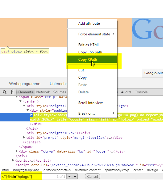 XPath Extensions for Chrome  itkosmopolit