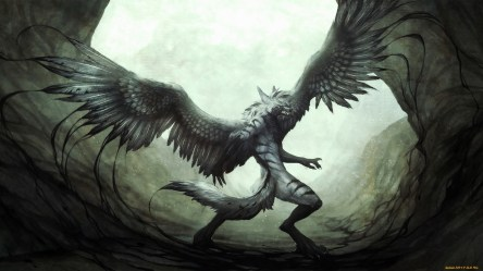 Creature Hd Wallpaper Monsters With Wings #1390510 HD Wallpaper & Backgrounds Download