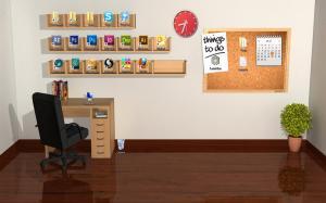 office desktop empty 3d cat picserio wallpapers itl