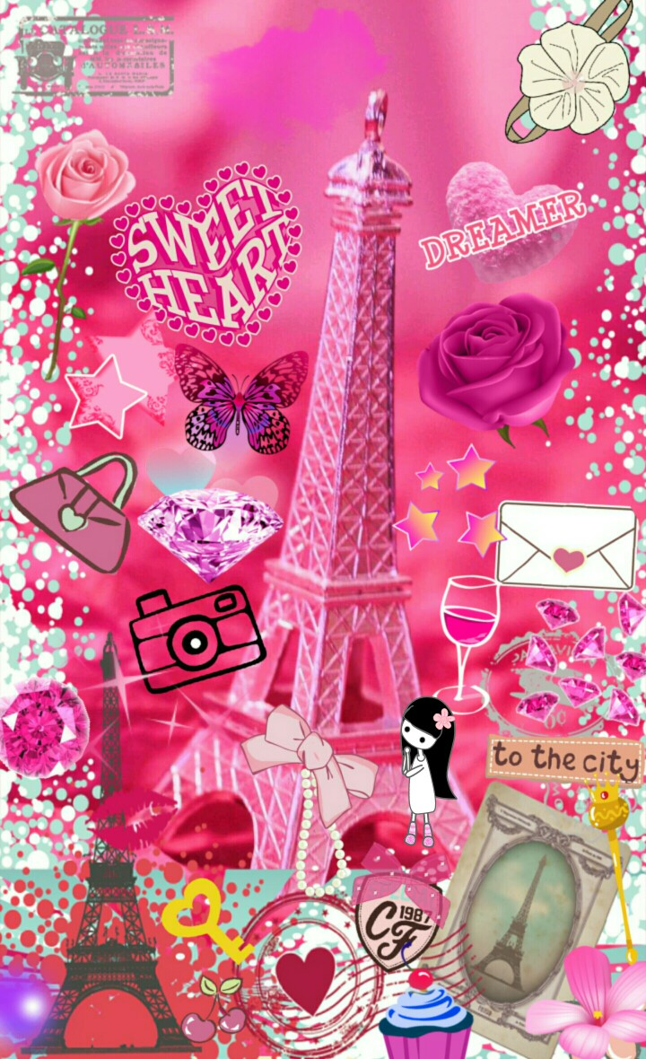 Girly Paris Wallpaper : girly, paris, wallpaper, Paris, Wallpaper, Girly, Kd-8127, Iphone, (#172317), Backgrounds, Download