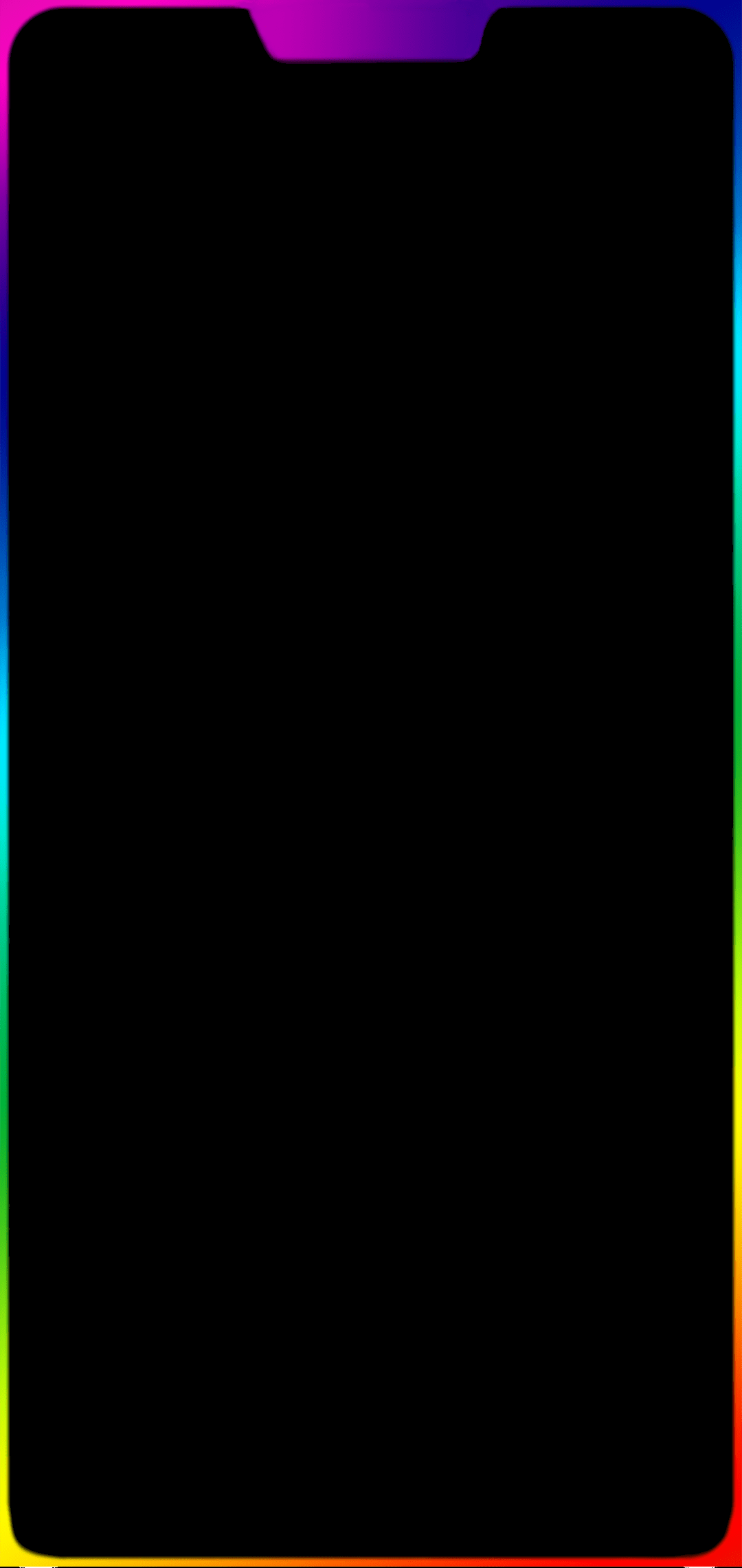 Rainbow Border Wallpaper : rainbow, border, wallpaper, Oneplus, Rainbow, Border, [1080x2280], (#1925545), Wallpaper, Backgrounds, Download