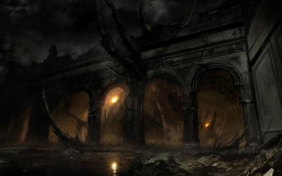 Alone In The Dark Wallpapers Hd Dark Fantasy Game Background #2049685 HD Wallpaper & Backgrounds Download