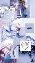 Lockscreen Aesthetic Blue #2524127 HD Wallpaper & Backgrounds Download